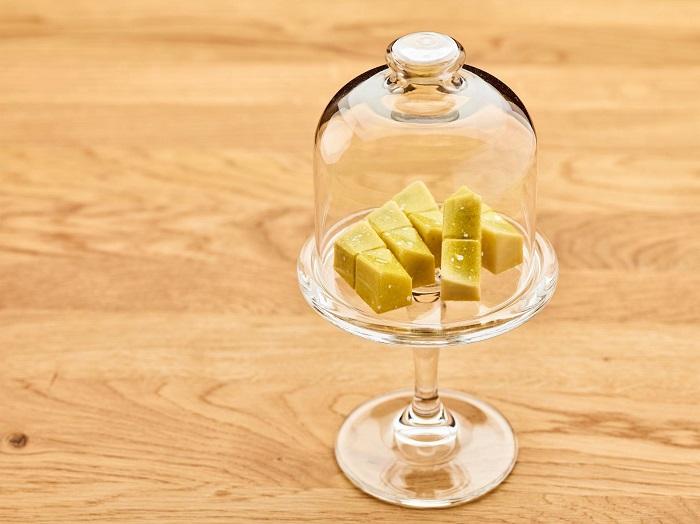 Absinth-Gurke-Apfel-Praline