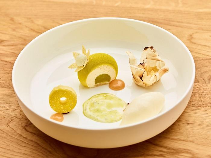 Apfel-Rosmarin-Dessert