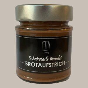 Schokolade Mandel Brotaufstrich
